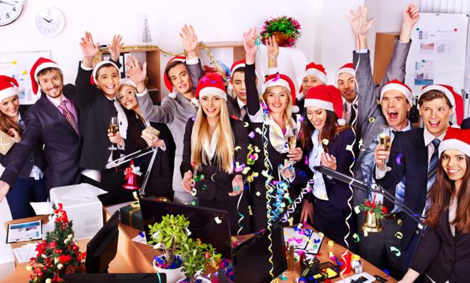 holiday company party