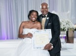 Bride Sparks Online Debate, Recieves Hate Mail After Presenting Proof Of Virginity To Father AtWedding