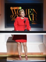Amy Schumer Gets Serious at Glamour Awards, Talks Heartbreak Over TrainwreckShooting
