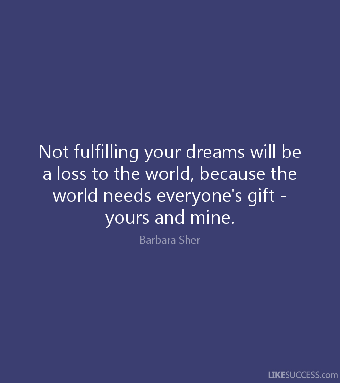fulfillyourdreams